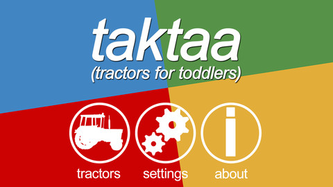 Taktaa (tractors for toddlers)