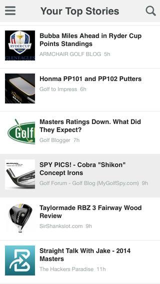 BigInto Golf - Scores, Tips, Equipment Reviews and News golf equipment deals