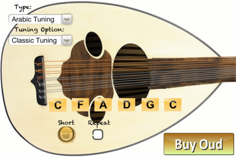 Oud Tuning & Notation