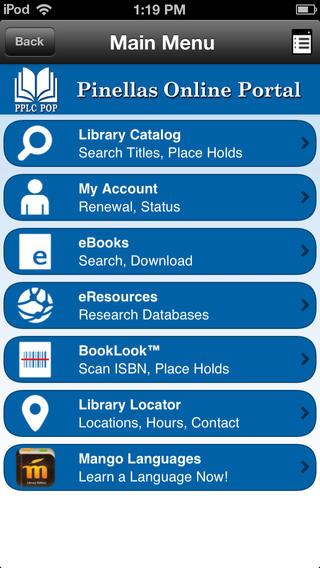 Pinellas Online Portal free public online library