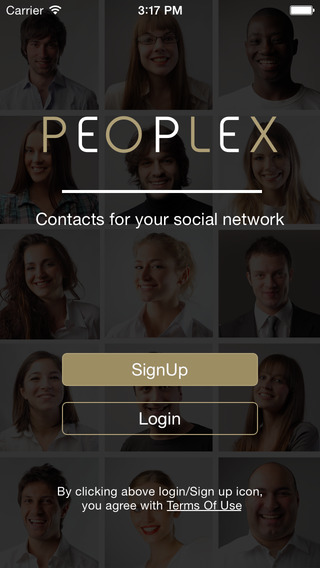 PEOPLE X - Find the right people from your network society people penpals