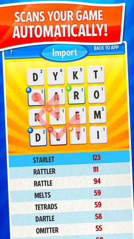 #1 Cheat for Ruzzle ~ find the best words with auto game import!