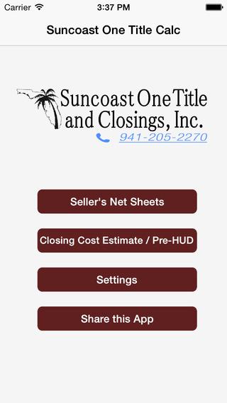 Suncoast One Title Calculator suncoast casino