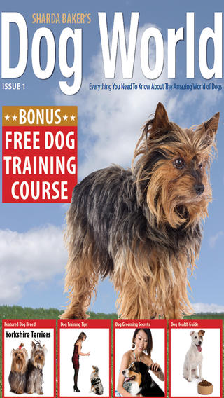 Sharda Bakers Dog World Magazine - Everything you need to know about the amazing world of dogs. swimming world magazine