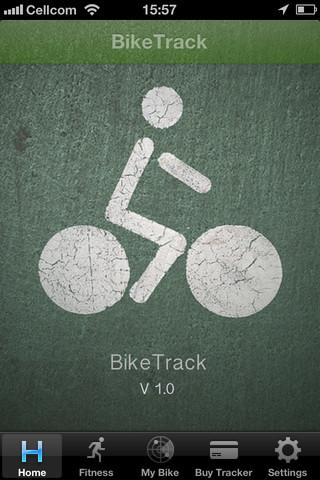 BikeTrack at tracker web