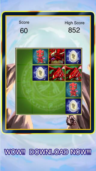 2048 Dragon Brain Teasers And Math Logic Puzzle Game - Pokemon Version Pro math brain teasers