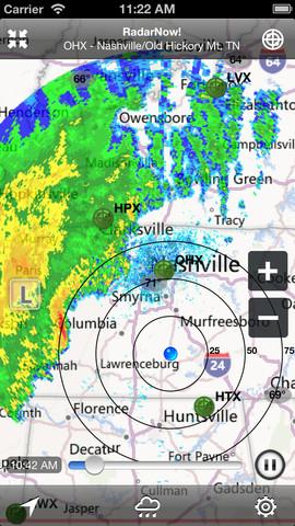 RadarNow! Weather Radar