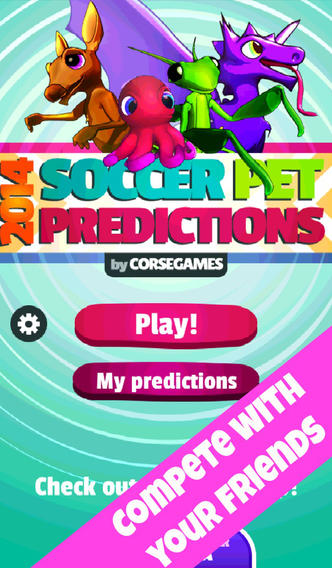 2014 Soccer Pet Predictions soccer predictions