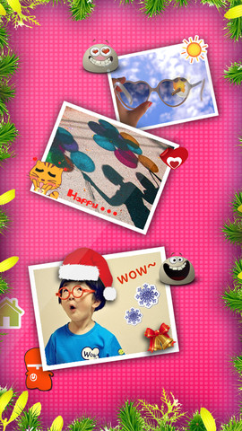 Emoticons & Captions Collage – add new emoji icons & special texts to my photo