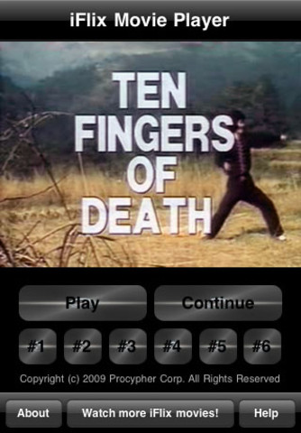 iFlix Movie: Ten Fingers of Death