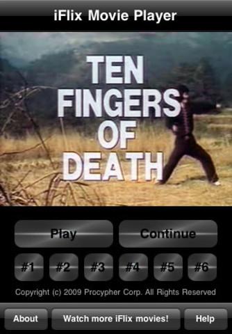 iFlix Movie: Ten Fingers of Death