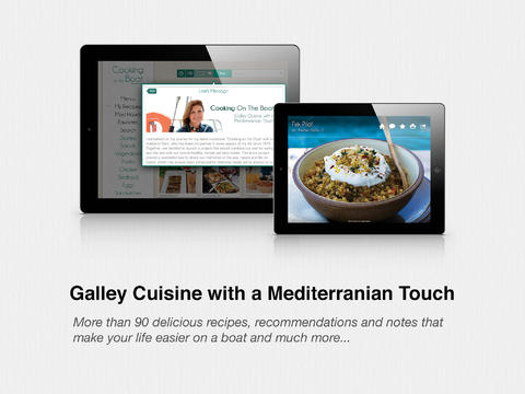 Cooking on the Boat - Galley Cuisine with a Mediterranean Touch mediterranean cuisine