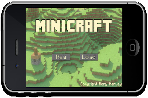 Minicraft App for iPad - iPhone - Games - app by Rory