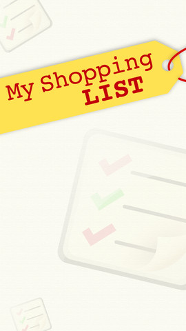 My Shopping List!