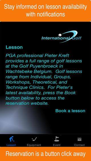 International Golf golf equipment deals