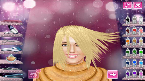 Crazy real hair salon 1 0 0 app for ipad iphone games for Actual beauty salon