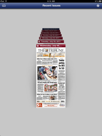 iTribune Reader for iPad
