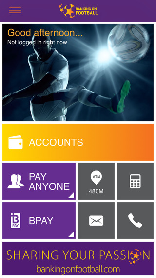 Banking on Football Mobile Banking mobile banking apps