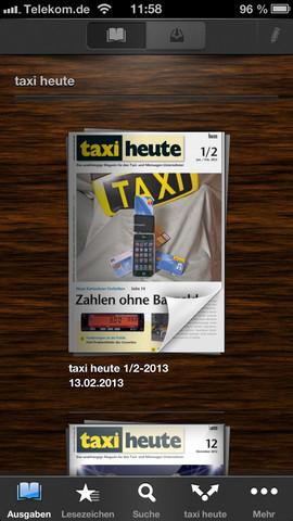 taxi heute – Das unabhängige Magazin für den Taxi- und Mietwagen-Unternehmer taxi