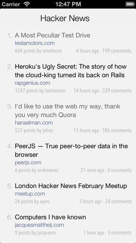 Hackers - Hacker News reading app news reading app