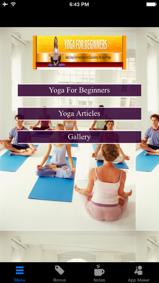 Yoga For Beginners:Baby Steps for Practicing and Discovering The Joy of Yoga yoga