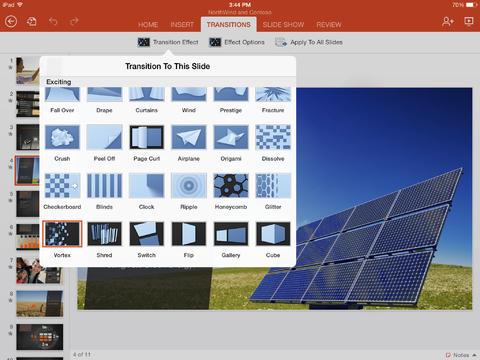 Microsoft PowerPoint for iPad