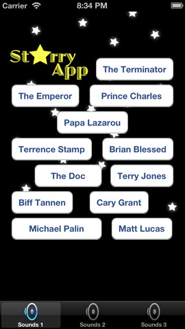 Starry App Celebrity Soundboard Free celebrity soundboard effects