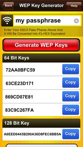 WEP Secure Pro - WEP Key Generator, WPA KeyGen & WiFi Random Password Generator handwriting generator
