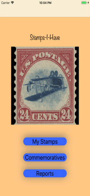 Stamps-I-Have personal stamps