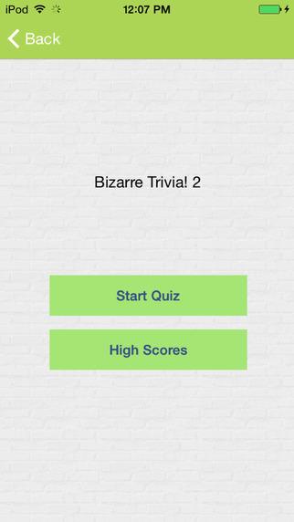 Bizarre Trivia! 2 very funny trivia questions