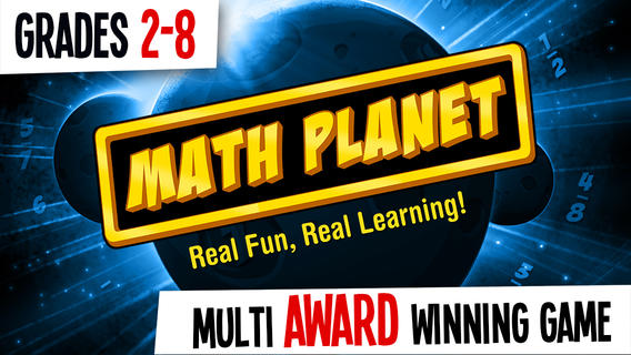 Math Planet – Fun and effective math game curriculum for kids in elementary, 2nd, 3rd, 4th, 5th grade, middle school and adults with free games for fractions, addition, subtraction, multiplication, division, math facts and number sense math games