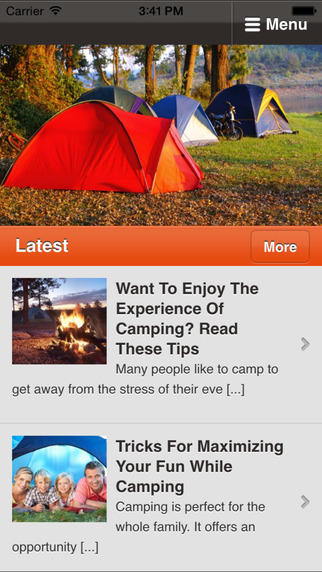 Camping Tips - Your Guide to Camping and the Outdoors camping equipment