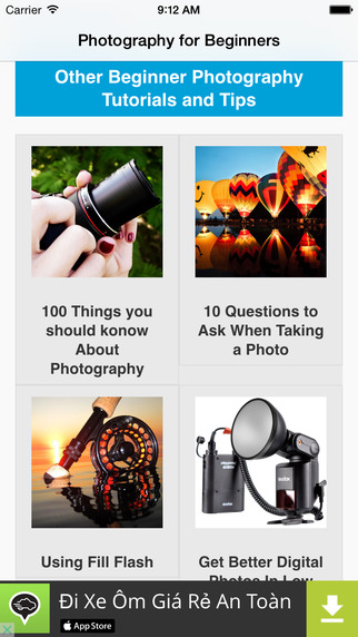 Photography for Beginners App amatuer photography contests 2014