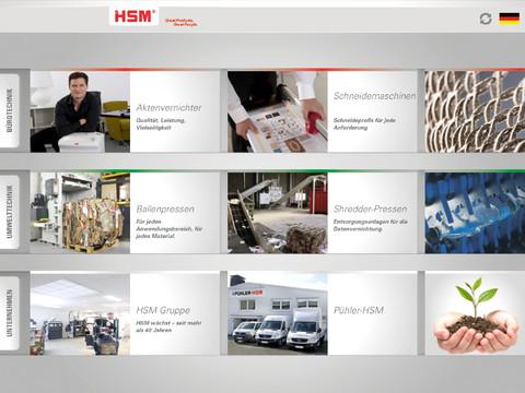 HSM Produktkatalog