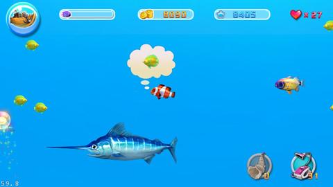 Big fish eat small fish games small fish for Big fish eat small fish