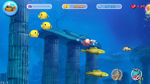 Big fish eat small fish app for ipad iphone games for Fish eat fish game