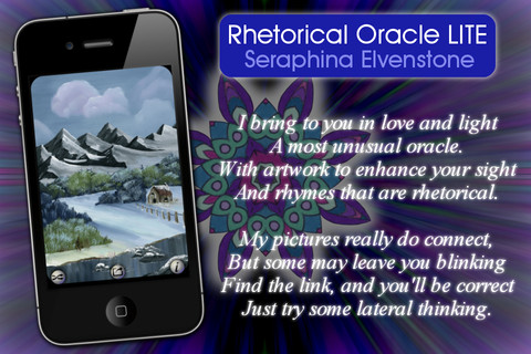 Rhetorical LITE Oracle Cards - Seraphina Elvenstone