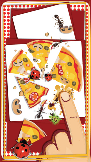 Pizza Game :Crush the insects and save your pizza from Insects Attack - لعبة سحق الحشرات وحفظ البيتزا insects entomologist study