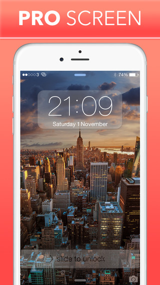 PRO Screen - Custom Home Screen and Lock Screen Wallpapers For iPhone, iPod Touch and iPad projector screen rentals