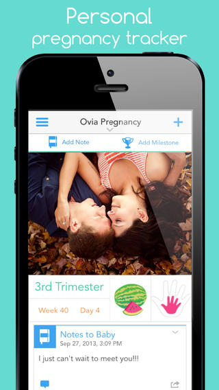 Ovia Pregnancy Tracker - Symptoms tracking, due date calculator, kick counter, and contraction timer very early symptoms pregnancy