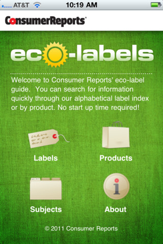 Eco-Labels printing labels