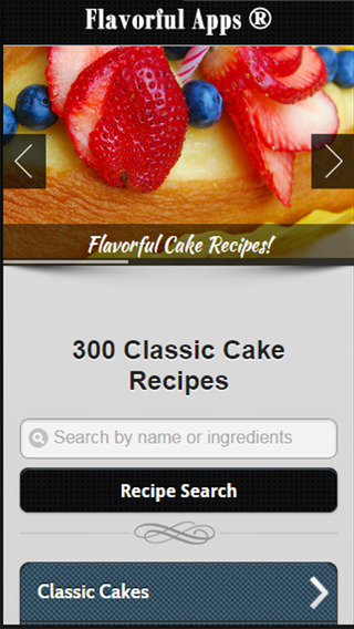 Cake Recipes from Flavorful Apps® coffee cake