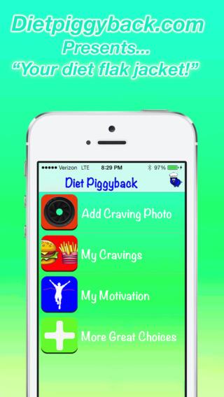 Diet Piggyback: Managing your Cravings to Prevent Huge Binges!