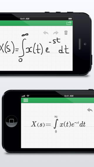 MyScript MathPad - Handwriting LaTeX generator handwriting generator