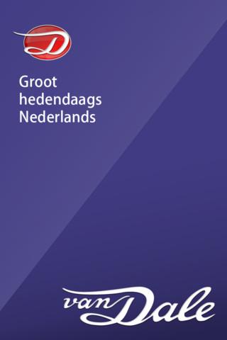 Van Dale Modern Dutch Explanatory Dictionary