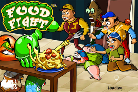 food fight video game