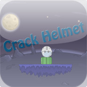 crack helmet camera helmet mount