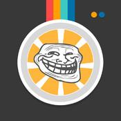 Insta Meme Gram Meme Generator App - HD Troll Face Meme Factory to Create Mobile Rage Comic Memes