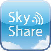 Sky Share iPhone edition share