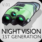 Night Vision 10x zoom (True night vision photo and video)
